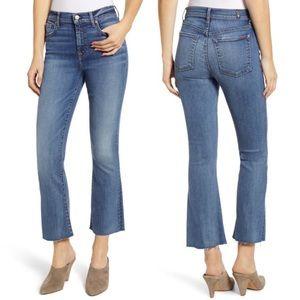7 For All Mankind Jeans 28 Slim Kick Raw Hem NWT!